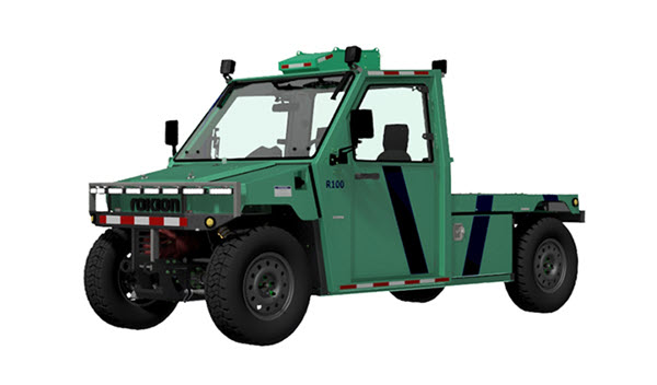 Technical Illustration of the Rokion R100 Battery Powered Truck