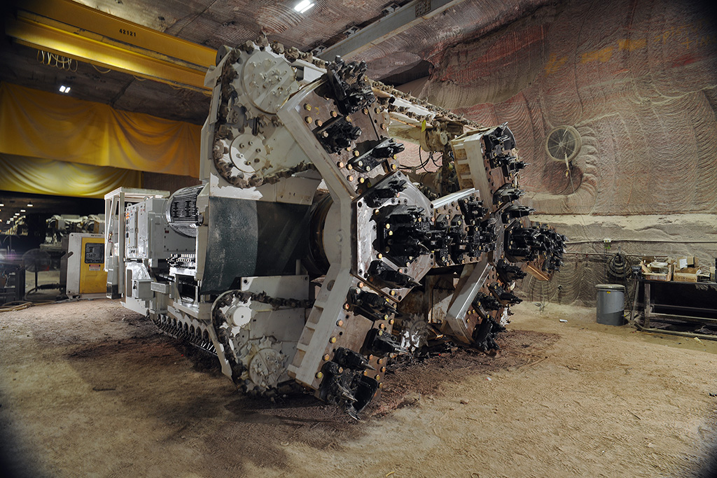2-Rotor Continuous Boring Miner